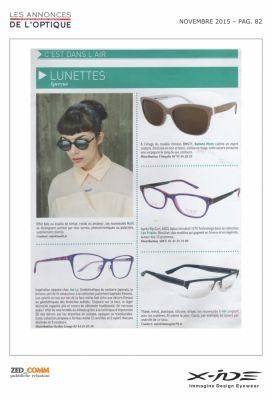 Les Announces De L'optique Novembre 2015 p.82