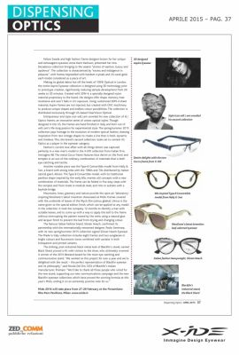 Dispensing Optics Aprile 2015 p.37