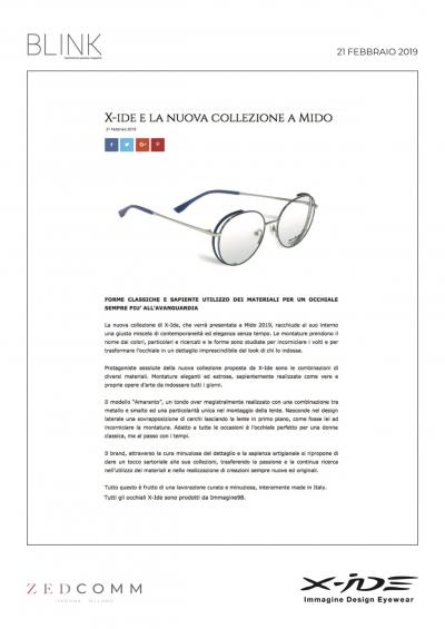 BLINKMAGAZINE.EU 21.02.19